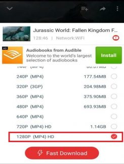 how to download 4K HD movies in InsTube