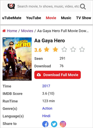 Aa-Gaya-Hero-full-movie-download-uTubeMate