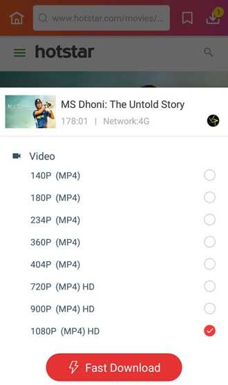 MS Dhoni Full Movie Download 1080p