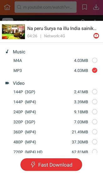 Naa Peru Surya songs download