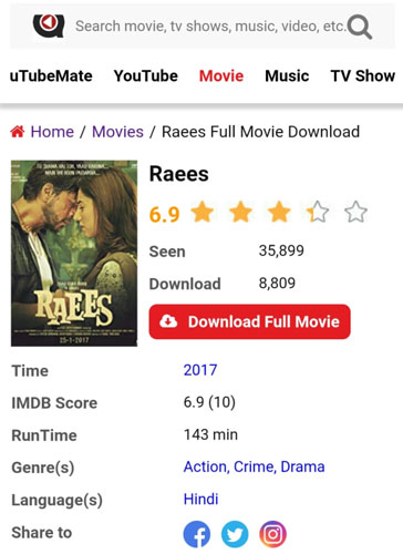 Raees-full-movie-download-uTubeMate