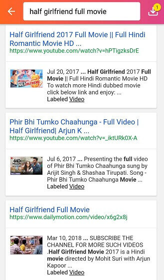 Find Half Girlfriend Full Movie Online