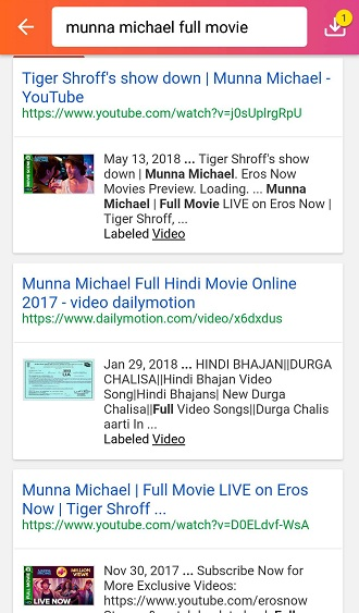 Munna Michael Full Movie Online