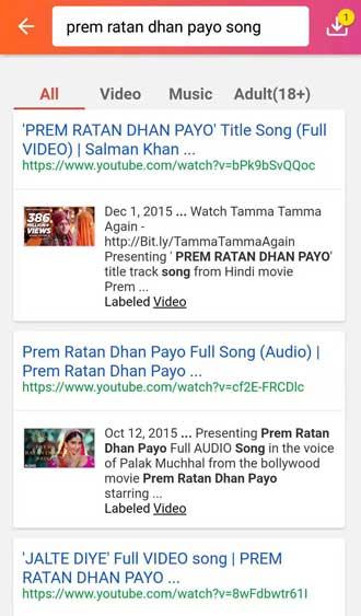 Prem Ratan Dhan Payo song online