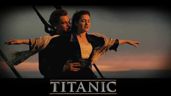 Titanic classic gesture