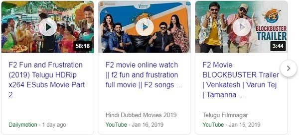 F2 Full Movie Watch Online