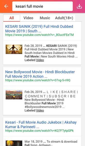 Kesari full movie online