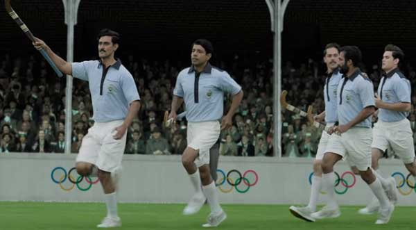 Indian hockey team in Gold