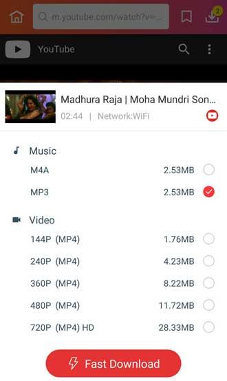 Madhura Raja song download in MP3