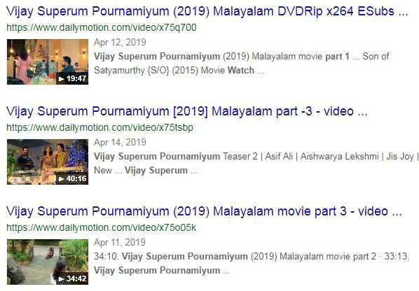 Vijay Superum Pournamiyum Full Movie Online