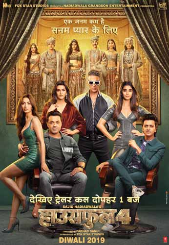 Housefull 4 movie poster
