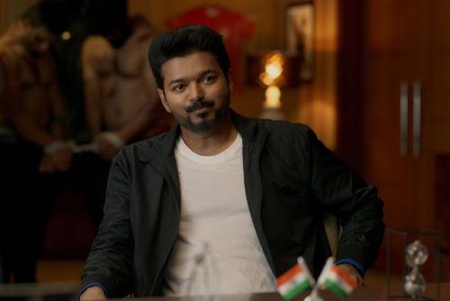 Joseph Vijay as Michael in Bigil