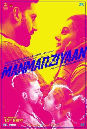 Manmarziyan 2018 movie poster