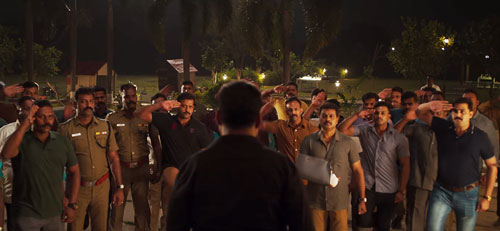 Bejoy and cops in Kaithi movie