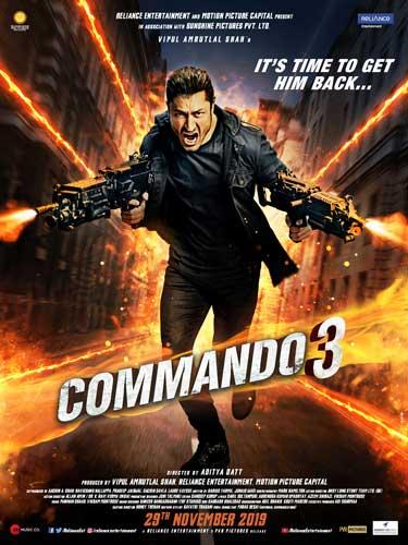 Commando 3 movie poster