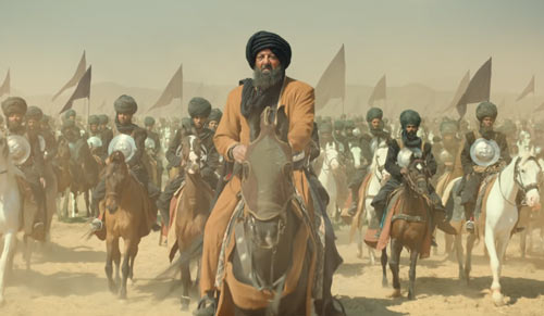 Ahmad Shah Abdali in Panipat movie