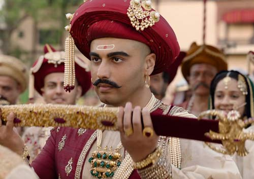 Arjun Kapoor as Sadashiv Rao Bhau