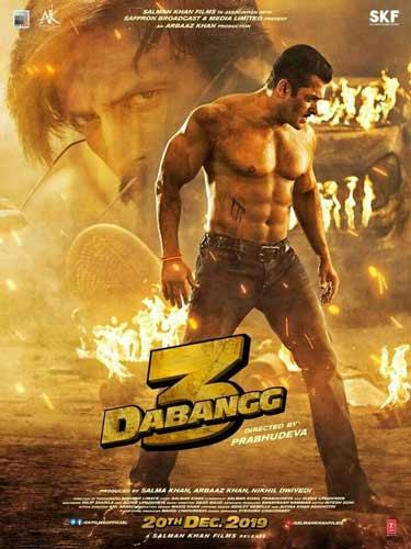 Dabangg 3 movie poster