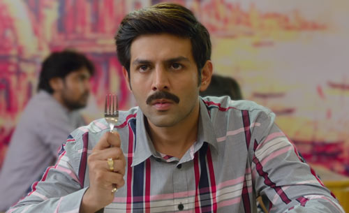 Kartik Aaryan as Chintu Tyagi