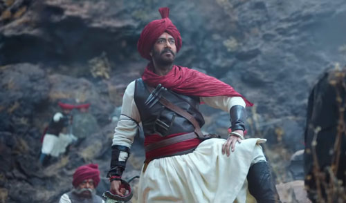 Ajay Devgn in Taanaji movie