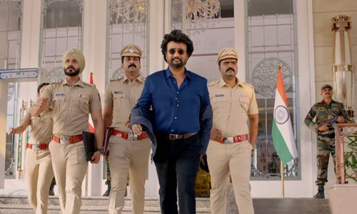 Darbar 2020 movie screenshot