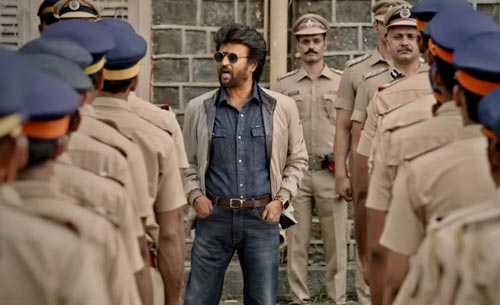 Rajinikanth in Darbar movie