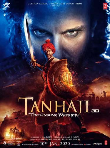 Tanhaji The Unsung Warrior movie poster