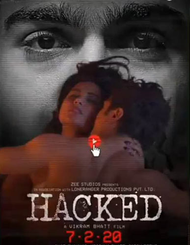 Hacked movie 2020 poster