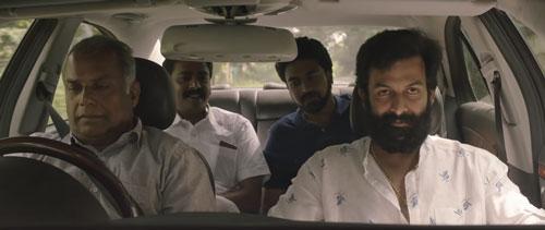 Koshy Kurien and his driver