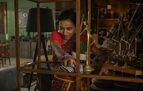 Ratna in Sir Hindi movie